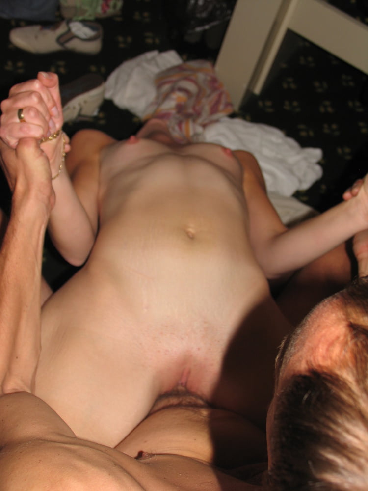 Russian couple sex on vacation at the hotel - 54 Pics