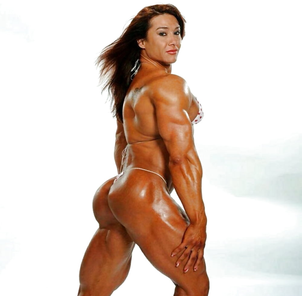 Naked Japanese Muscle Girl Woman