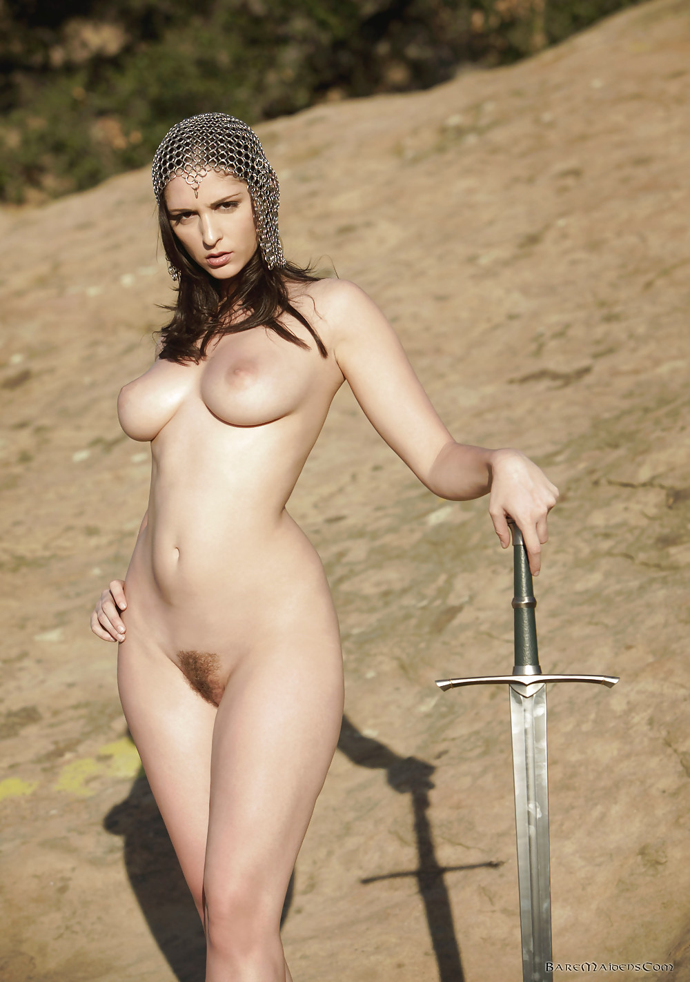 Amazon women warriors nude