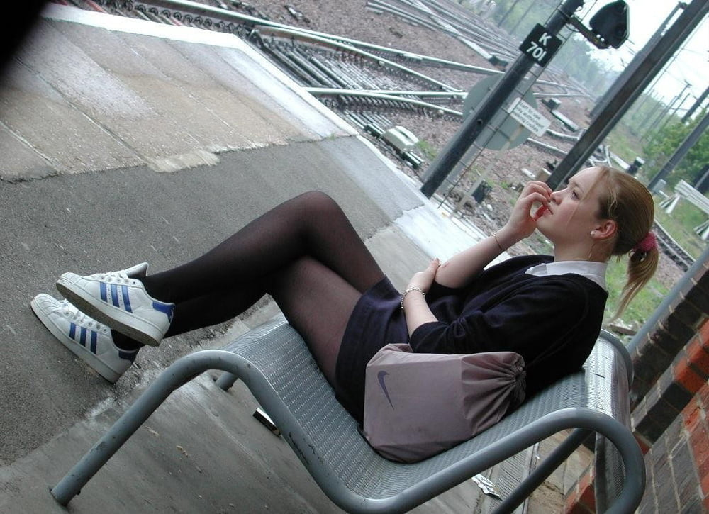 Hot girls on benches 2 - 261 Pics