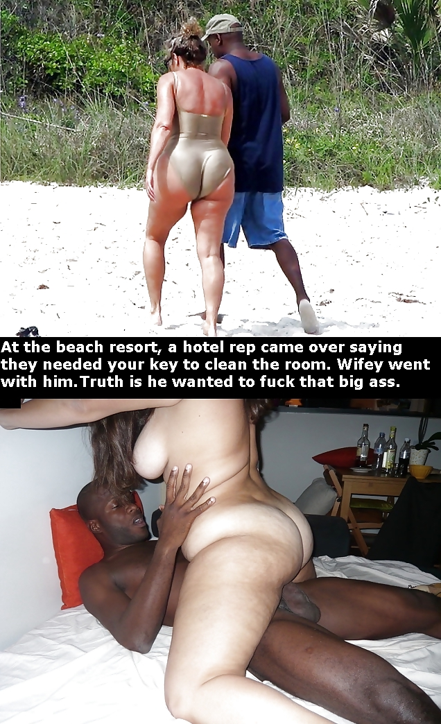 Dp interracial cuckold captions