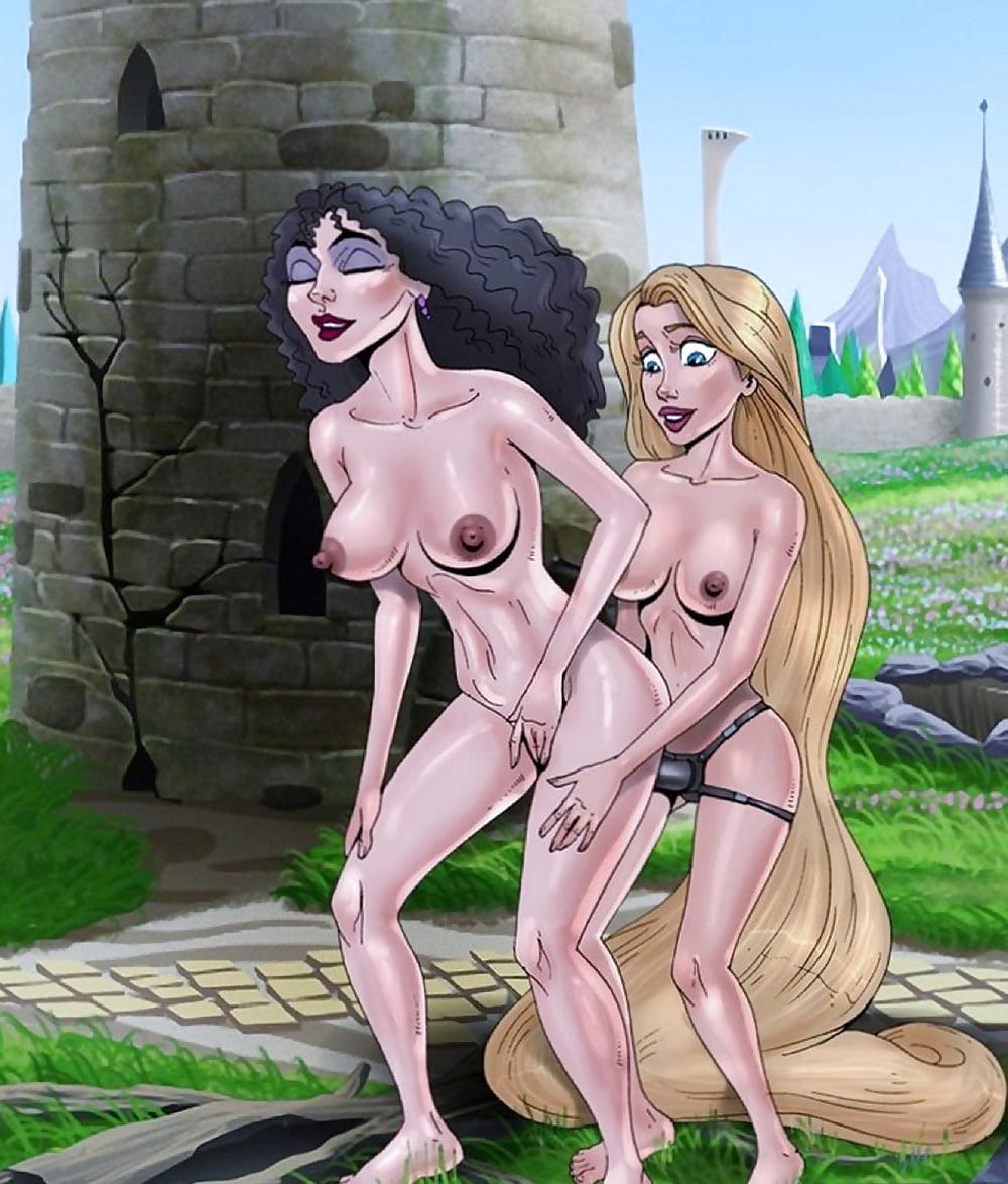 Naked Rapunzel