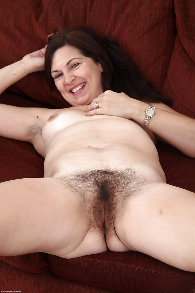 Horny hairy mature-2519