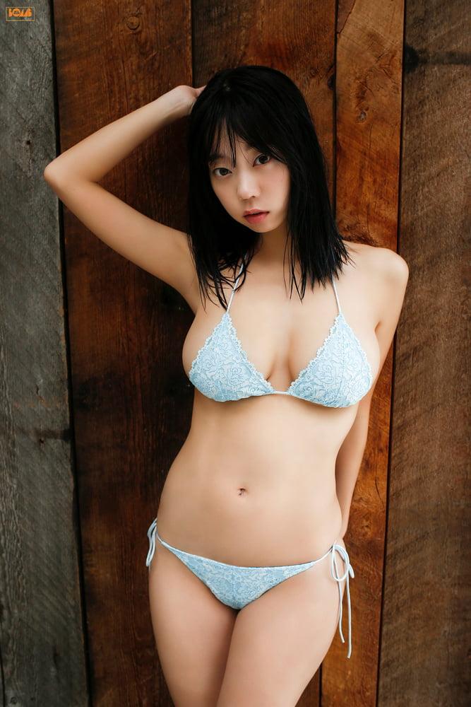 Chubby asian bikini
