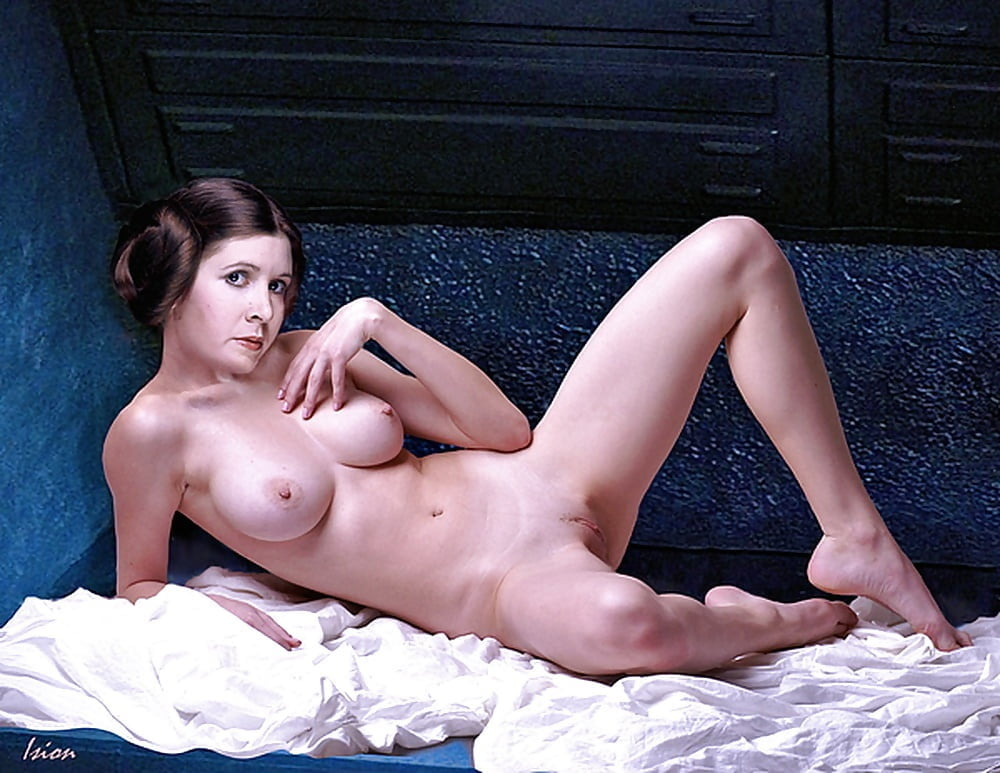 Attractive Carrie Fisher Naked Fakes Scenes