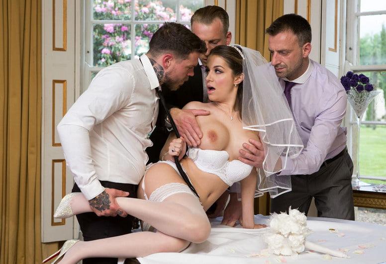 Wedding night sex