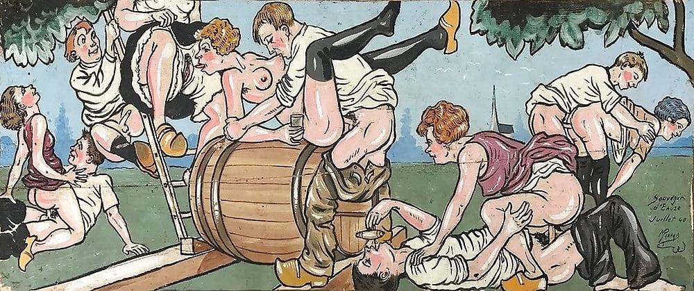 Vintage cartoons gallery into adult cartoon club