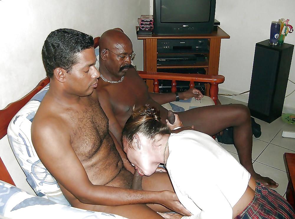 Couple Shares Double Dildo