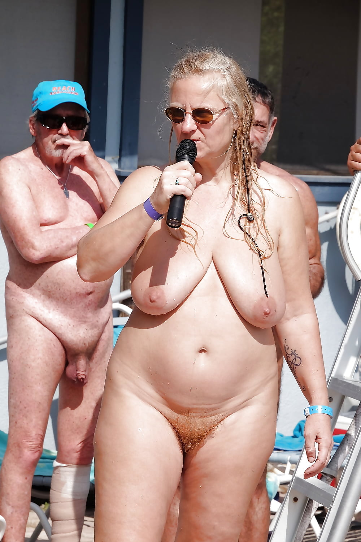 My days of nudity