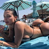 Aletta: Fake Boobs and Ass on the beach