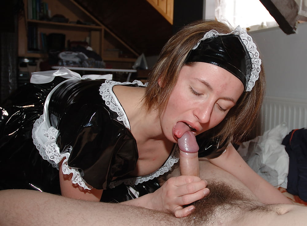 Give my maid a blowjob punishment