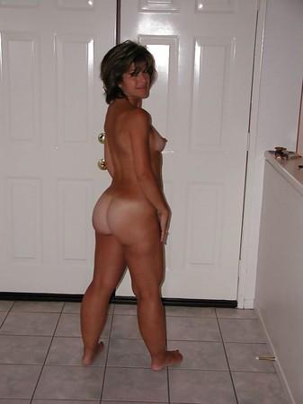 Milf seducing boy with huge tits