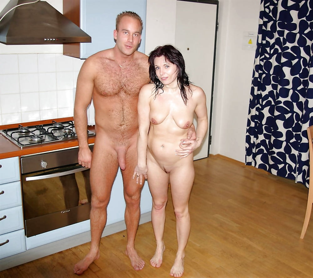 Man and wife nude