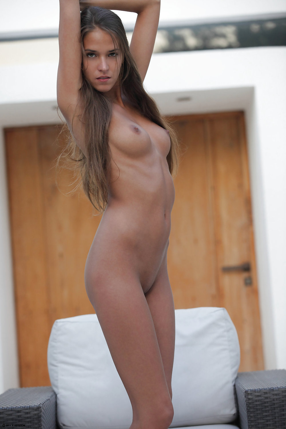 Naked tan boobs-5397