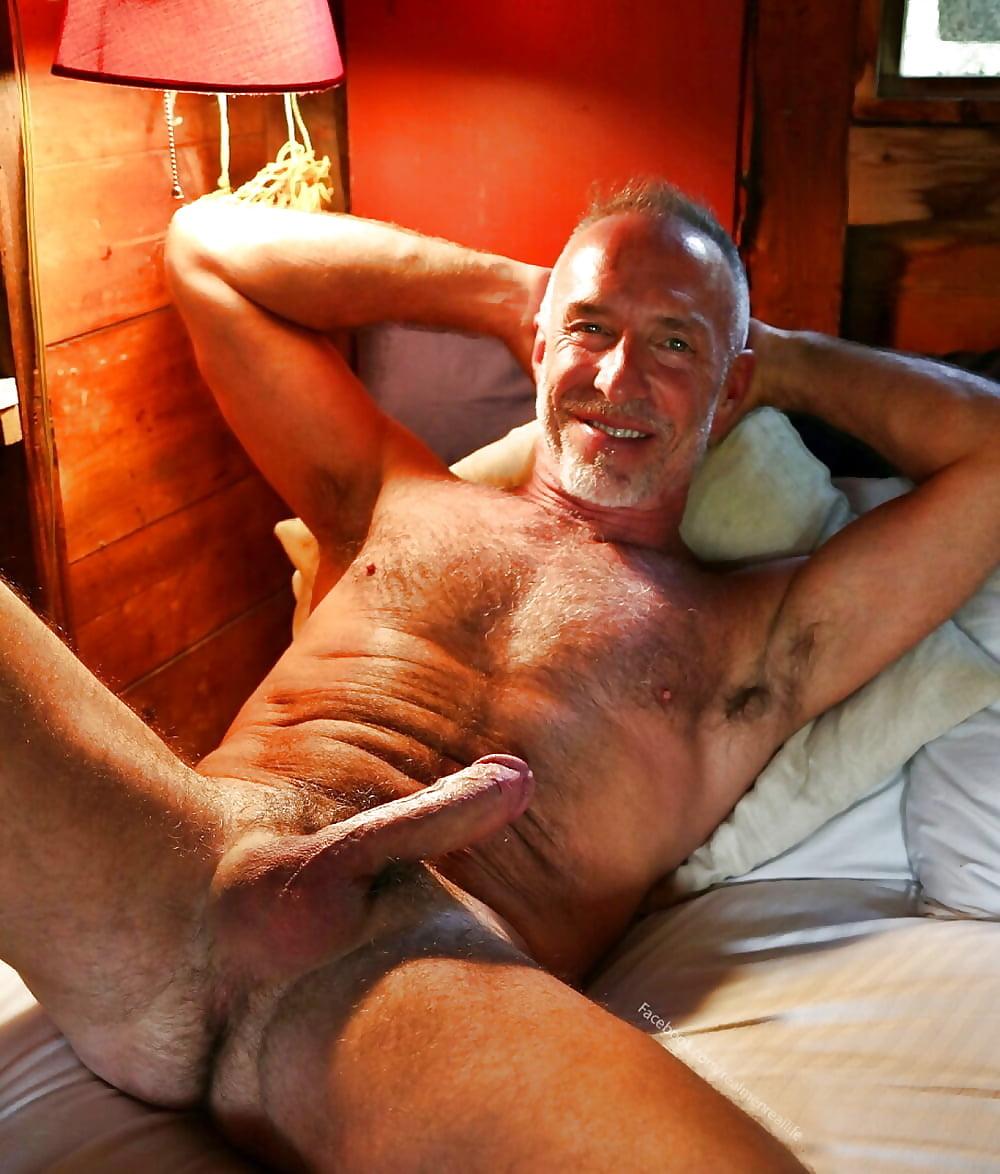 Real mature men naked