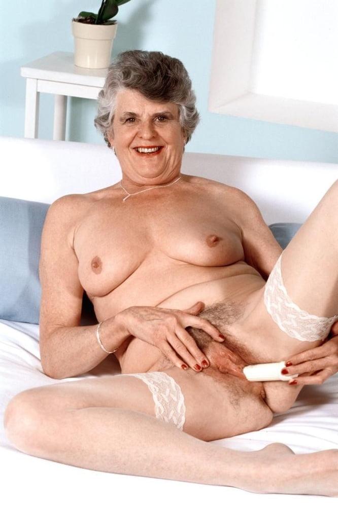 British granny masturbating with dildo