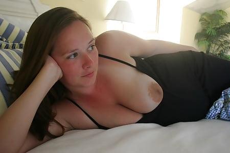 slut showing her nasty tits again