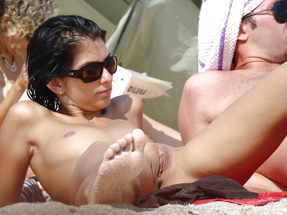 Girls on beach nude