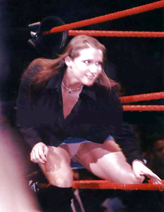 nipples mcmahon Wwe stephanie