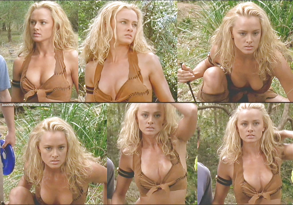 Naked Jennifer O'dell In The Lost World Ancensored