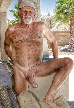 Naked old people