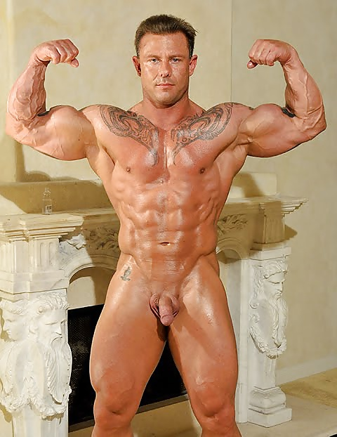 Bodybuilder male naked kinky raunchy sex