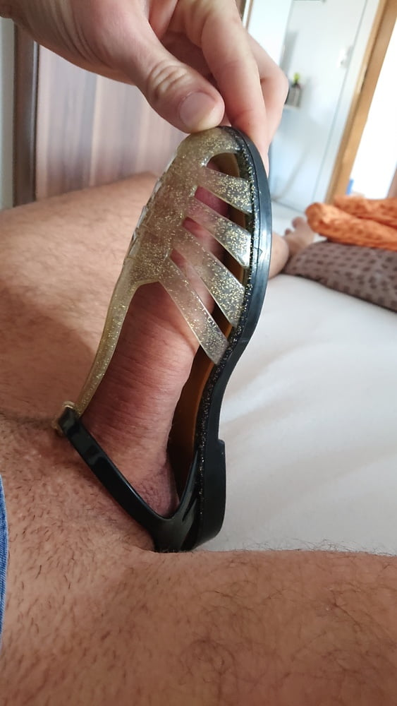 Ive Been Leaving My Dried Cum On Sandals