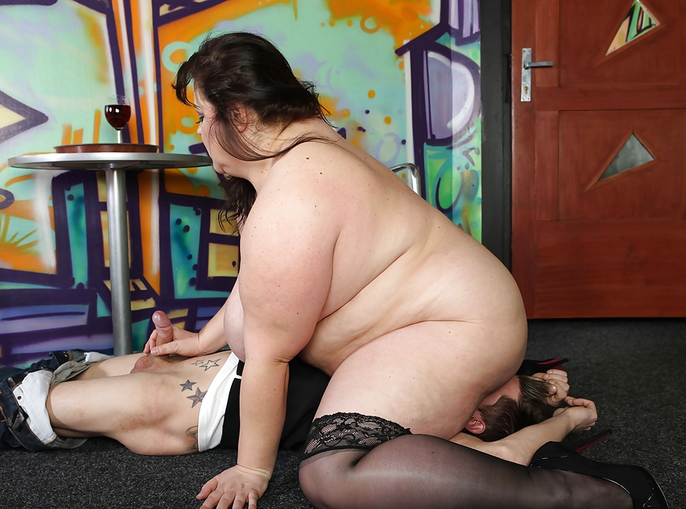 Bbw Sub Dominated And Fed With Cum