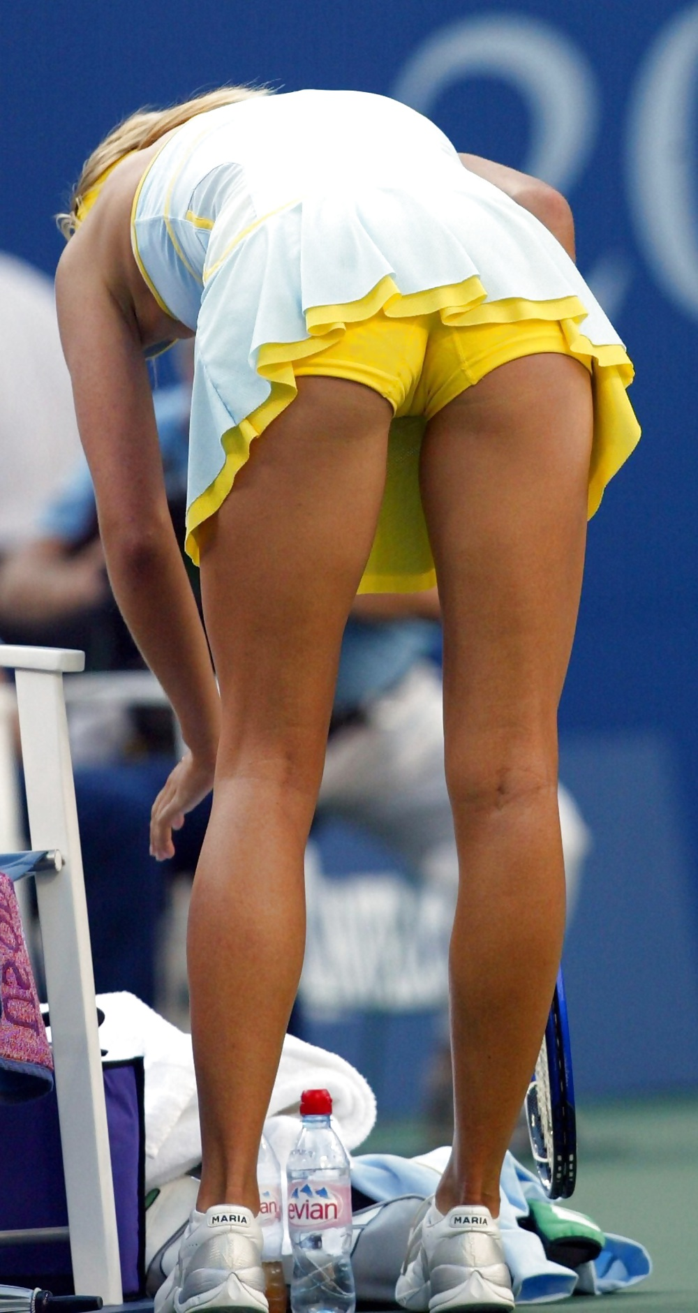 The best upskirt moments in tennis