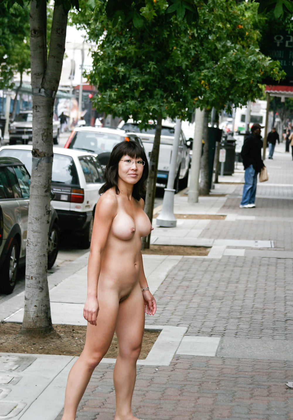 Chinese naked in public
