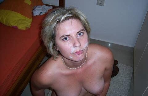 Amateur Milf Bläst Und Will Ein Facial