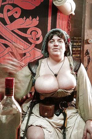 Renaissance cleavage big tits