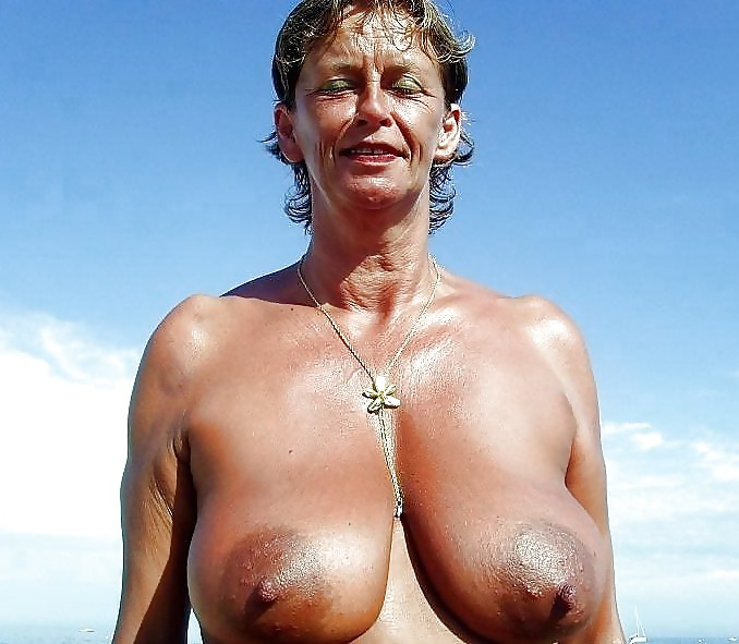 Hot old mom naked with big boobs naked women