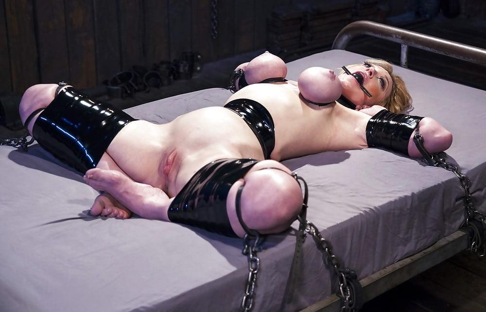 Girls hands behind head slave position 6
