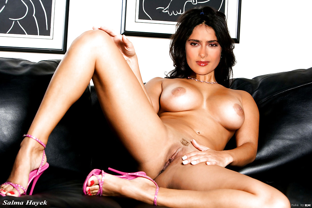Salma Hayek porno video