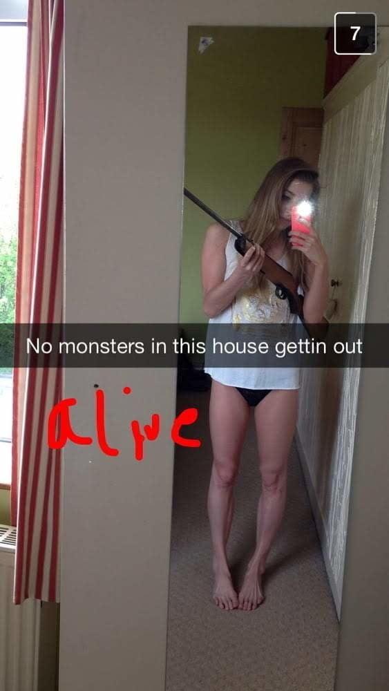 Sarah T exposed