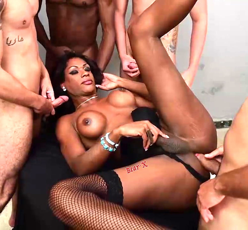 Shemale Nerdy Guy Gets Gangbanged By The Gorgeous Group Of Ts Chicks Porn Photo, Duration