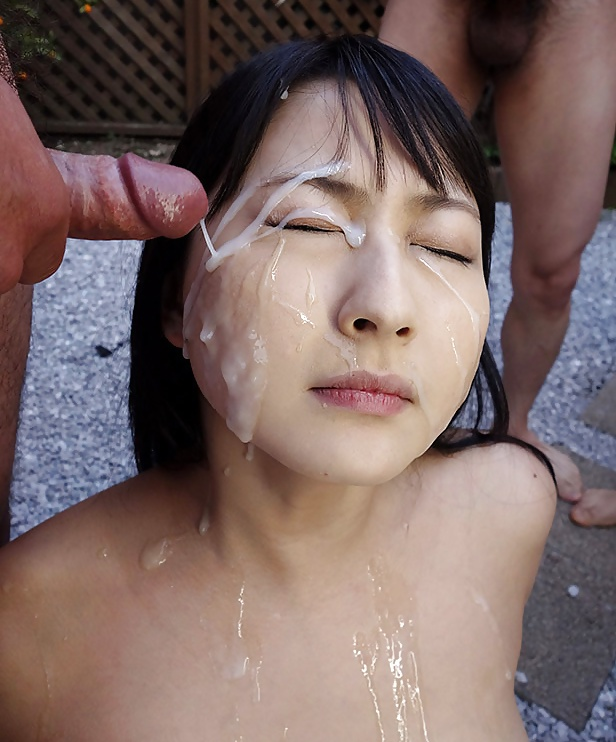 Bukkake and group sex for sexy japanese college angel yurina sex clip, watch online for free