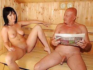 Sauna Mature