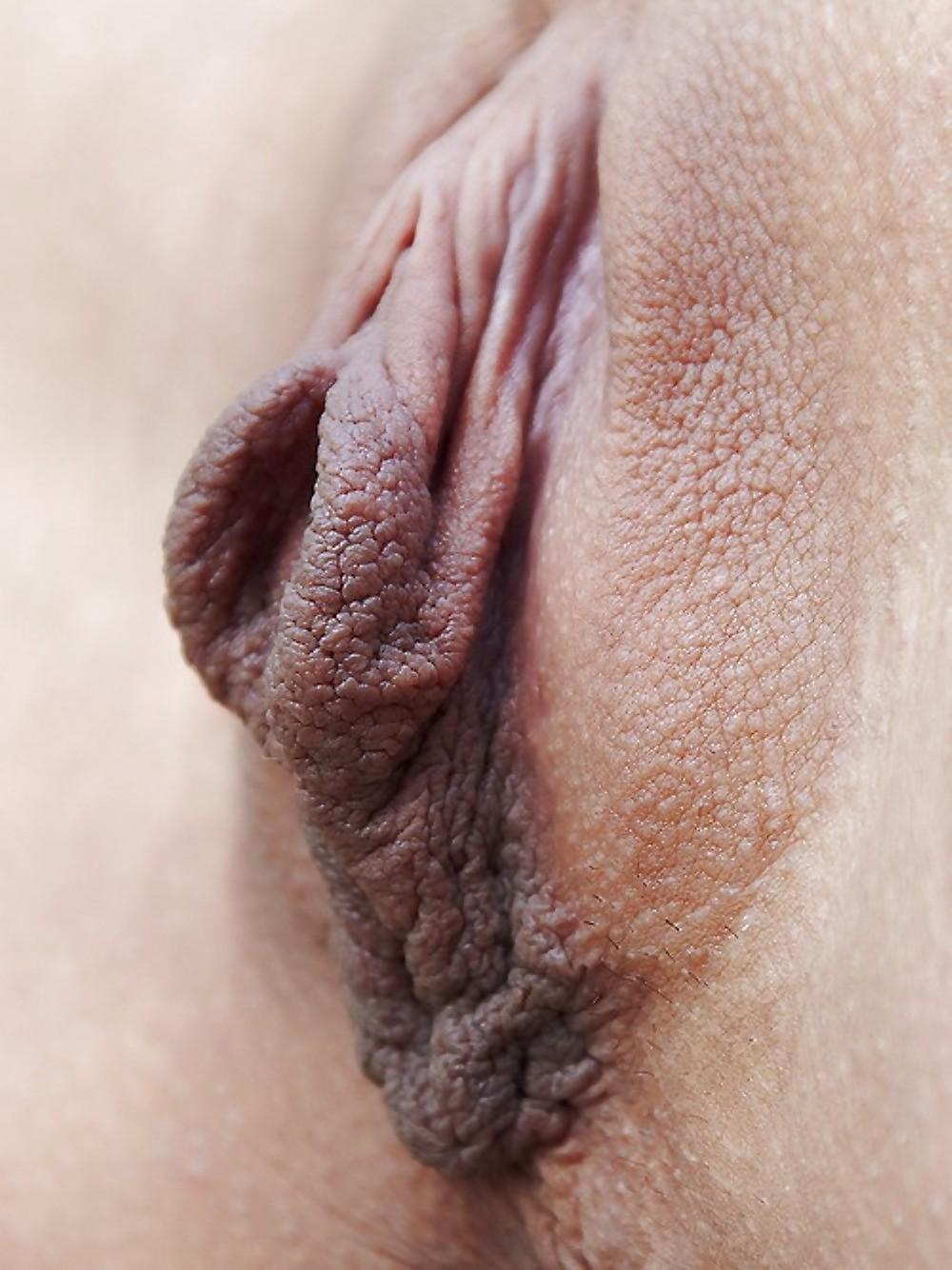 Накачанной смотреть большие малые половые губы у девушек сосет член