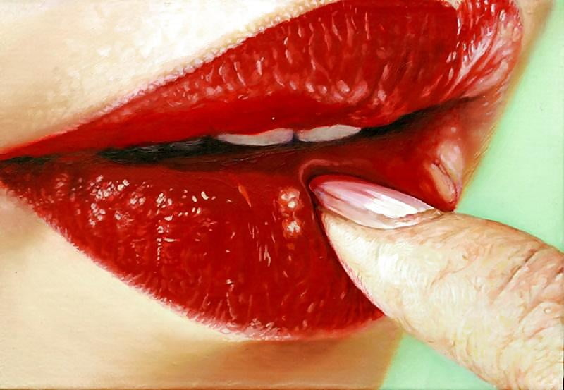 My Weakness, Vivid Red Lips... - 37 Pics