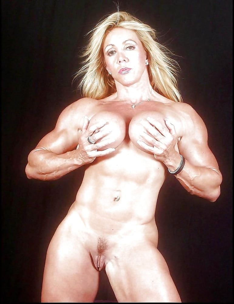 Nude female muscle galleries, black and white glamour