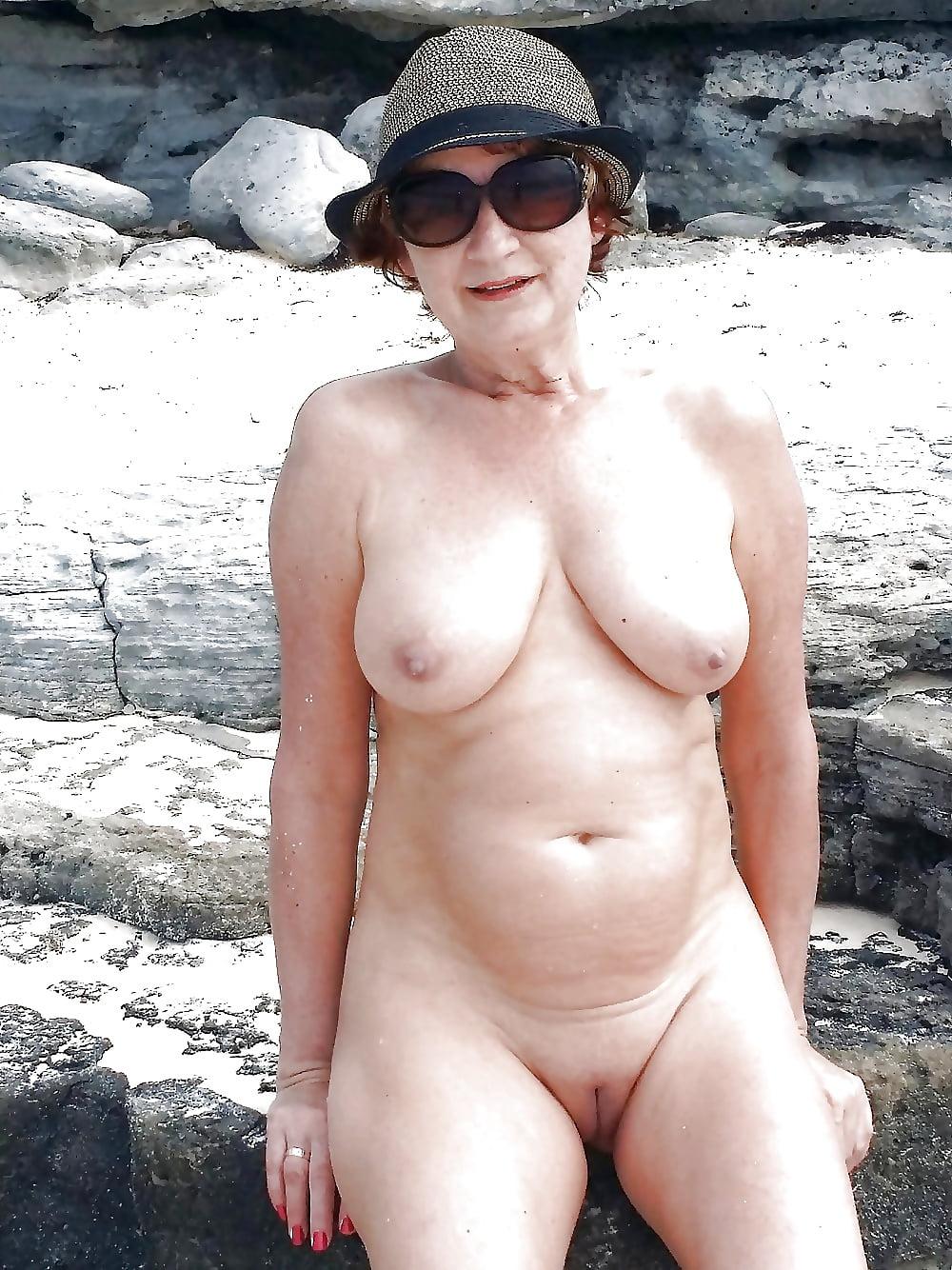 Grannys naked on beach, see naked little girls