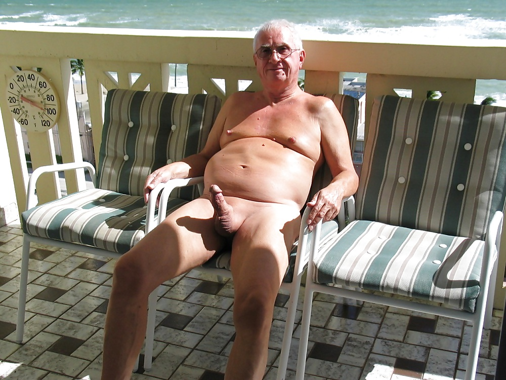 Old nude nudist men — 7