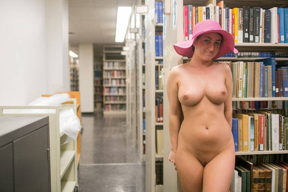 Naked women library