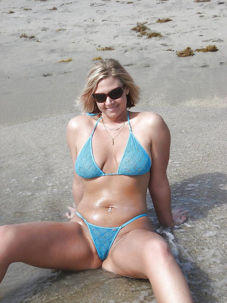 Wife bikini free pics #6