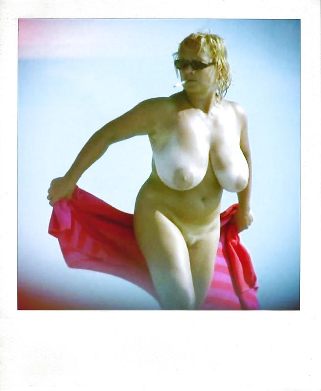 Polaroids Big Tits Naked Women