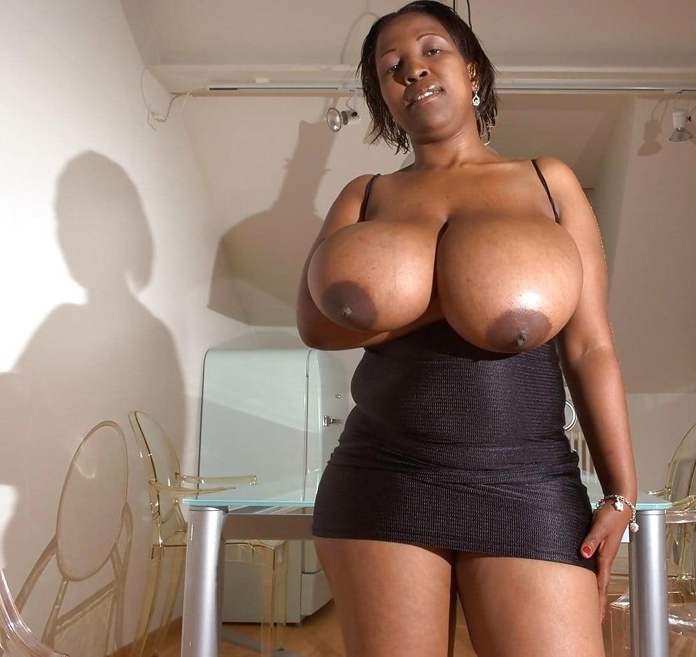 Big ass big tits black woman
