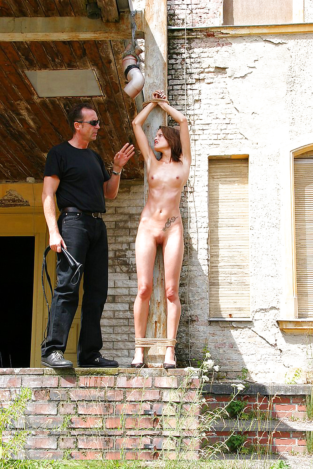 Forced Public Nudity As Punishment