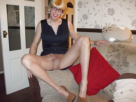 women pantyhose Plain wearing